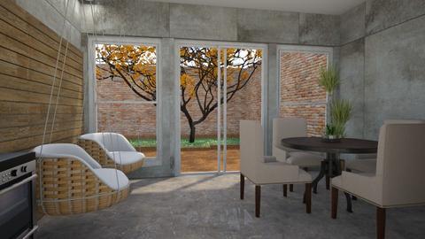 Garden template - by Milena_