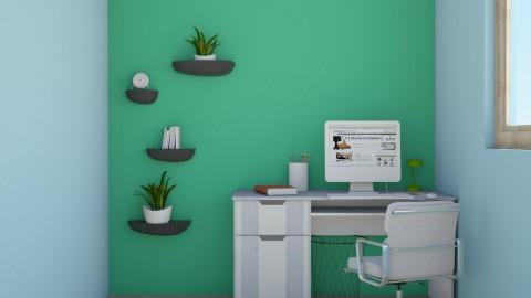 Bedroom Office Room - Bedroom - by Jaja Mdr