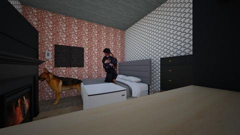 Dream Wonderland - Retro - Bedroom  - by Eric Dove