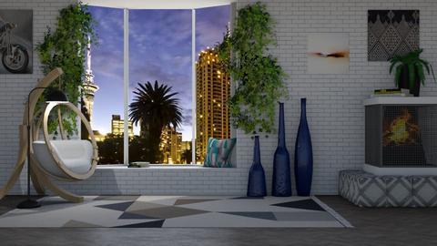 Contestttt_ window side - Living room  - by Tanem Kutlu