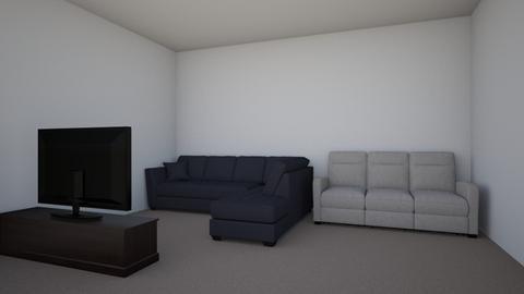 TV room - by Evelyn MacRae