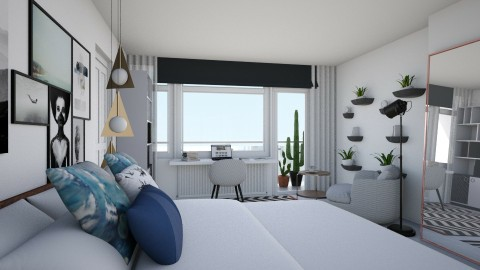 Bedroom redesign - Modern - Bedroom  - by chania