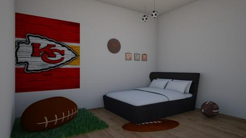 Kansas City Chiefs - Bedroom  - by greekgirl37
