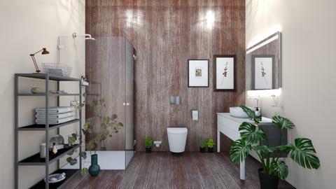 jk - Bathroom  - by Lililu