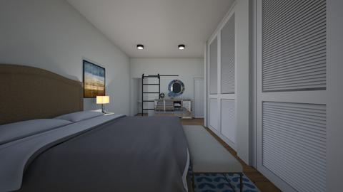 Master bedroom view 1a - Bedroom  - by Loveinteriordesign