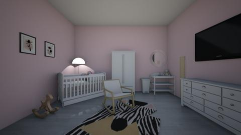 Girls Nursery 1 - Kids room  - by kay06