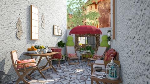 Backyard - Garden  - by Joao M Palla