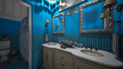 Beachy Bathroom - Bathroom  - by SammyJPili