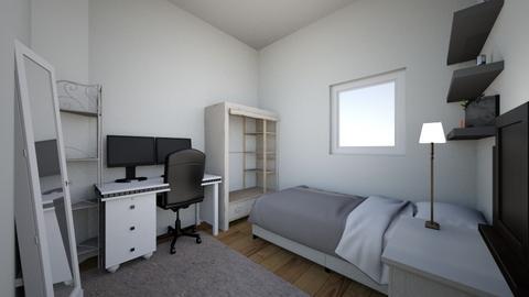 bedroom - Minimal - Bedroom - by blackkoi