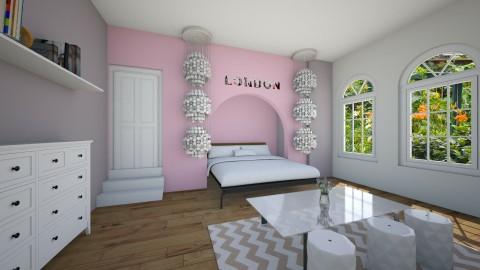 teen bedroom - by kaylers101