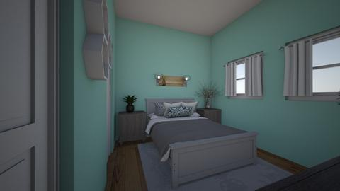farmhouse bedroom  - Bedroom  - by cobaughevelyn