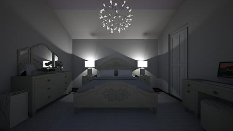 lavender bedroom - Bedroom  - by joetee