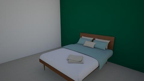 sypialnia - Glamour - Bedroom - by marek_kwl