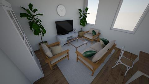 living - Minimal - Living room  - by kaskowal