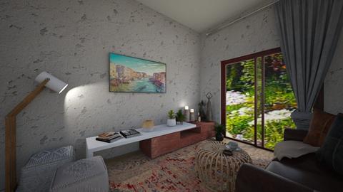 ethnic parfume - Living room  - by vasilikif