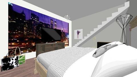 modern - Bedroom - by 1Lunareclipse
