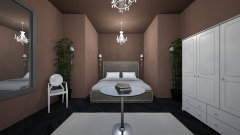 brown - Bedroom - by jovhke
