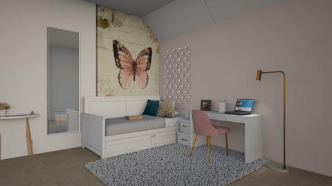 Student dorm  - by Oyisha