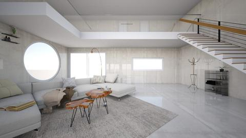 beige - Living room  - by Amy Robberts