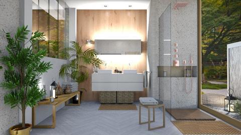 IP Terrazzo - Minimal - Bathroom  - by rungsimas