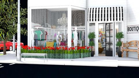 Summer store front - Classic - by Louisa caulton