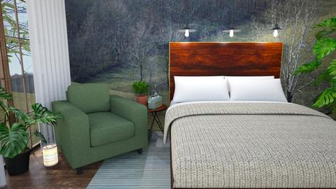 Sage Bedroom - Bedroom  - by amyskouson