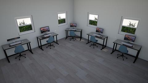 Admin room - Modern - Office  - by Olennnnna