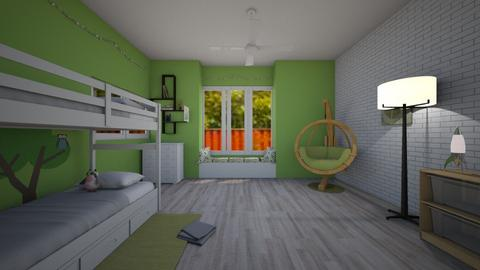 Kids bedroom 3 - by Hannah_Scanga