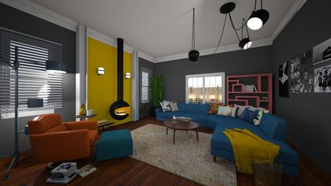 eclectic living - Bedroom  - by Mackenzie Kem