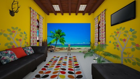 tropical dream - Country - Living room  - by Toshana Sue