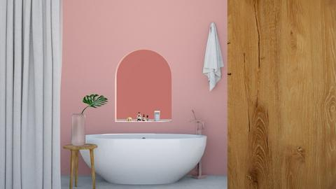 Simple and cute Bathroom - Minimal - Bathroom  - by milk07Designs