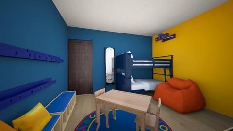 Ali - Kids room  - by clarizzaf