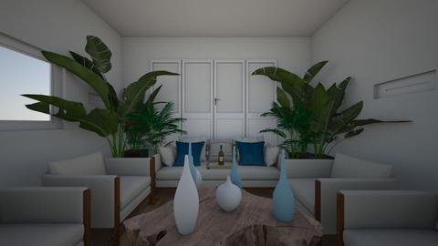 beach living room - Living room  - by nataesquenazi