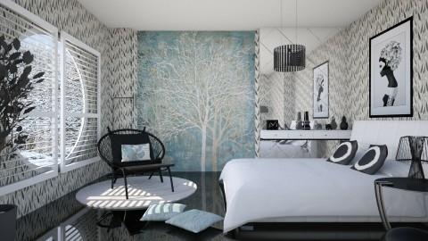 M_Circle - Bedroom  - by milyca8