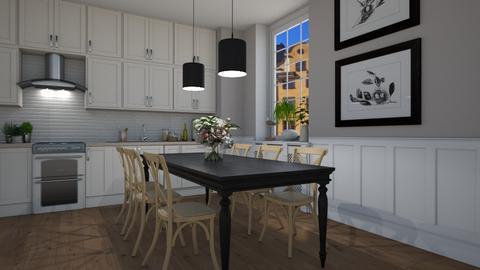 Stockholm - Kitchen  - by Tuija