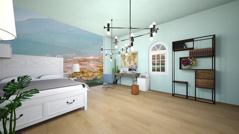 Beach room in Grece - Bedroom  - by FANGIRLdesigner