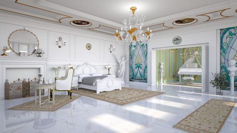 Art Nouveau Bedroom II - Bedroom  - by diegobbf