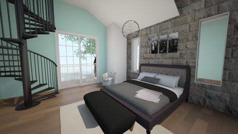 Loft - Bedroom - by amynicole17