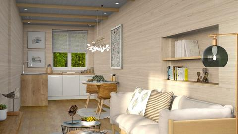 Container home - Living room  - by eymuuuch