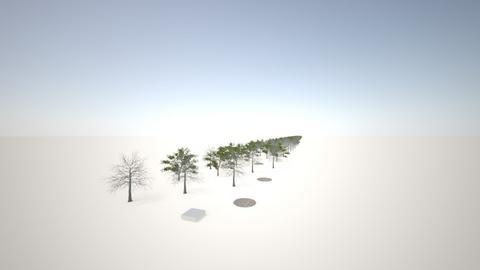 Detras oficina Superv - Garden  - by JhonAndia