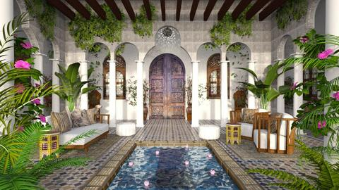 Design 515 RIAD - Garden  - by Daisy320