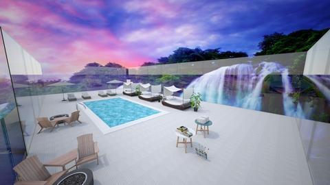 Relaxing pool - by DanceUnicorn