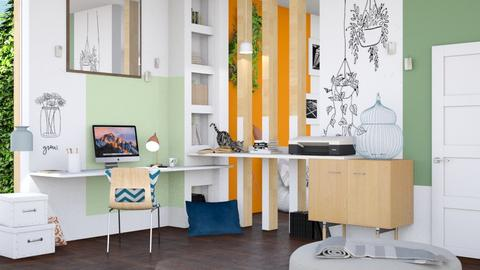 Modern Playful - Office - by ArtHousedeco