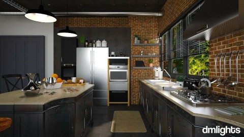 industrial  kitchen - Kitchen  - by rrogers47