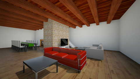 rustic - Rustic - Living room  - by Andreas videos