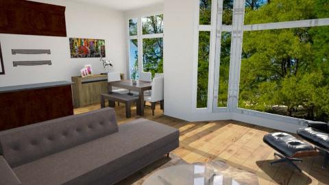 Open floor plan - Glamour - Living room  - by Yasmine Sakkez