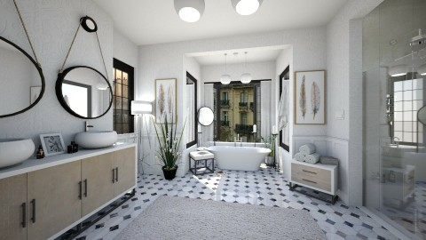Country Nook - Bathroom - by SimonRoshana