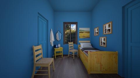 Van Gough recreation - Bedroom  - by hmm22