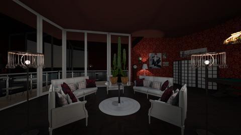 cactus worship - Vintage - Living room  - by emmie314