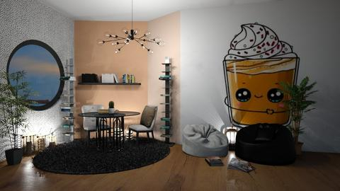 Kawaii Contest_2  - Living room  - by Meghan White